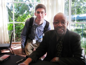 Greg with Leonard Pitts