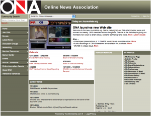 New ONA site